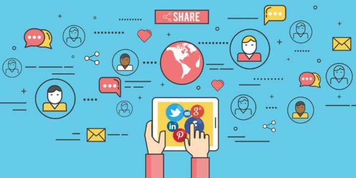 compartir-contenidos, redes sociales