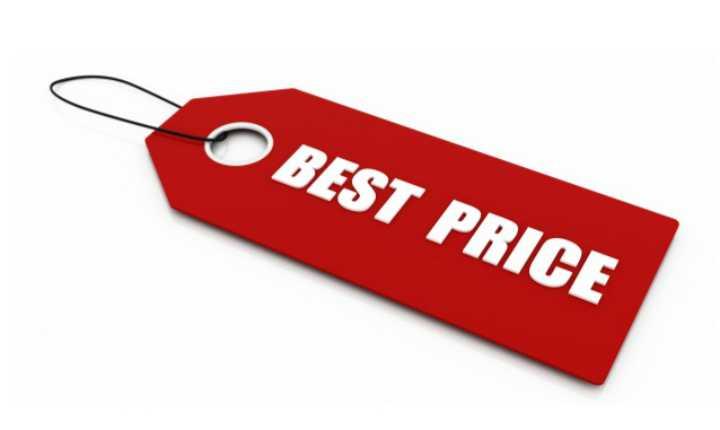 precios bajos, precios altos